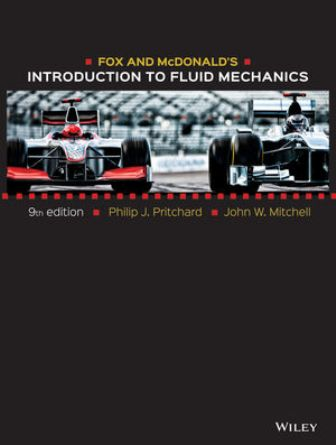 Solution Manual for Fox and McDonald's Introduction to Fluid Mechanics 9th Edition Pritchard