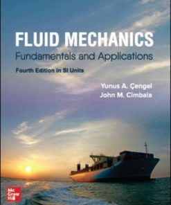 Solution Manual for Fluid Mechanics: Fundamentals and Applications 4th Edition Cengel