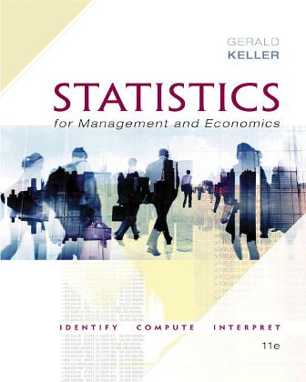 Solution Manual for Statistics for Management and Economics 11th Edition Keller