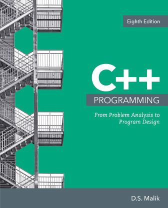 Test Bank for C++ Programming: From Problem Analysis to Program Design 8th Edition Malik