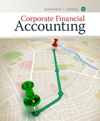 Test Bank for Corporate Financial Accounting 15th Edition Warren