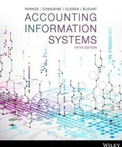 Test Bank for Accounting Information Systems 5th Edition Parkes