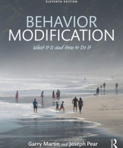 Test Bank for Behavior Modification What It Is and How To Do It 11th Edition Martin