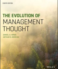 Test Bank for The Evolution of Management Thought 8th Edition Wren