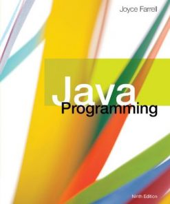Test Bank for Java Programming 9th Edition Farrell