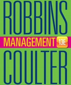 Test Bank for Management 13th Edition Robbins