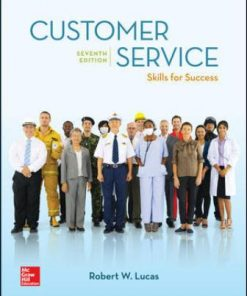 Test Bank for Customer Service Skills for Success 7th Edition Lucas